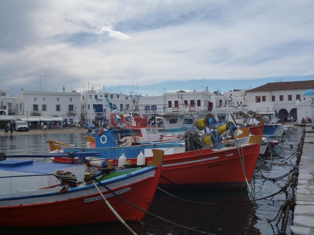 Image of Fishing Vessels Mykonos