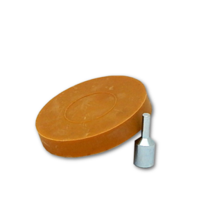 Image of a caramel wheel with arborator