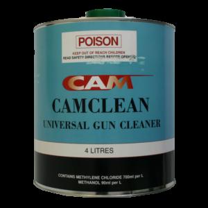 Image of tin of CAM Gun Cleaner 4 Litre