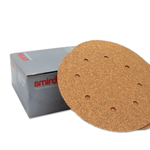 Image of a box of Smirdex 230mm sanding discs