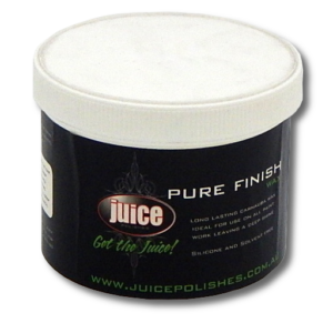 Image of a container of Juice pure finish car wax