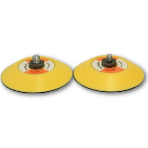 image of lemix yellow 75mm back up pads