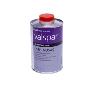 image of valspar industrial AU540 poly urethane direct to metal activator