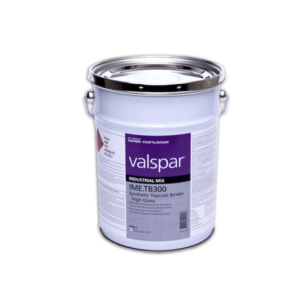 image of valspar industrial TB300 synthetic topcoat in 20ltr container